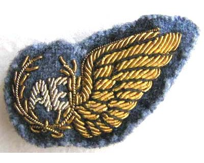 RAF111. AE (AERIAL ENGINEER) HALF WING, for mess dress