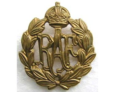 RAF121. RAF OTHER RANKS CAP BADGE