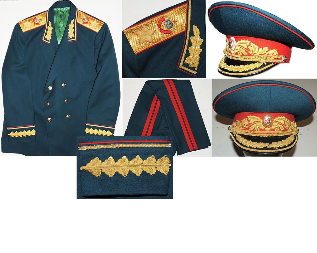 SOV001. SOVIET MARSHAL OF THE SOVIET UNION DRESS UNIFORM