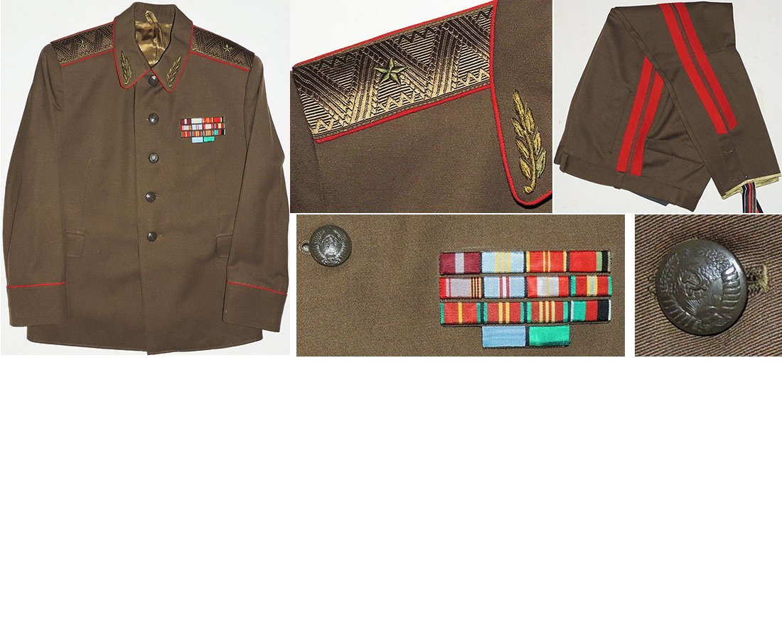 SOV005. SOVIET ONE STAR GENERAL'S FIELD UNIFORM (1969-78)