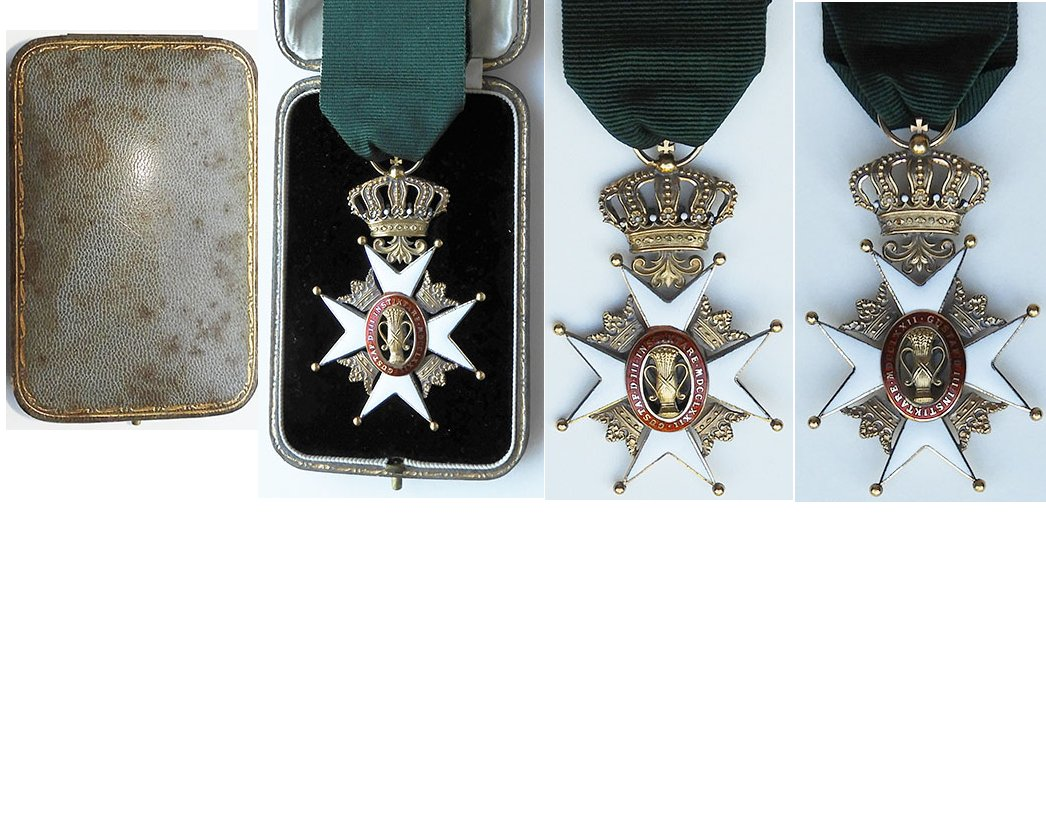 FM0926. SWEDEN ROYAL ORDER OF VASA, Knight 1st Class
