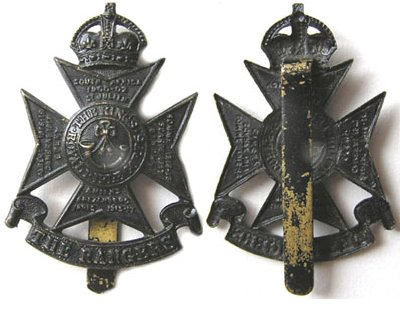UKB1314. 12th BATTALION (RANGERS) LONDON REGIMENT, 2nd Pattern