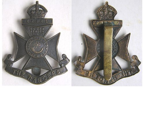 UKB1311. 12th BATTALION (RANGERS) LONDON REGIMENT, 1st Pattern