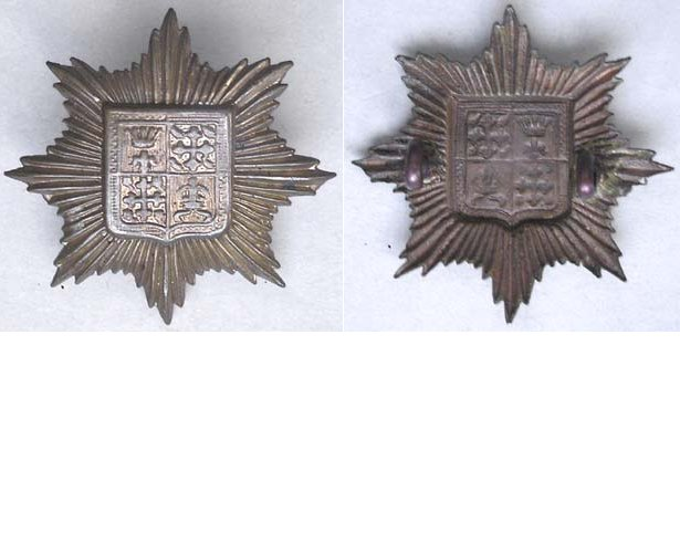 UKB1316. 13th BATTALION (KENSINGTON) LONDON REGIMENT, lugs