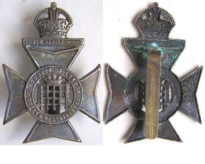 UKB1325. 16th BATTn. (QUEEN'S WESTMINSERS) LONDON REGt. Voided