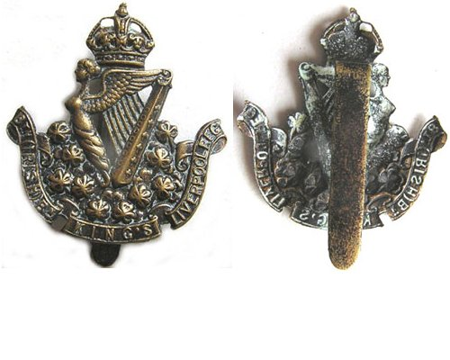 UKB1505. 8th BATTALION (IRISH) KING'S LIVERPOOL REGIMENT