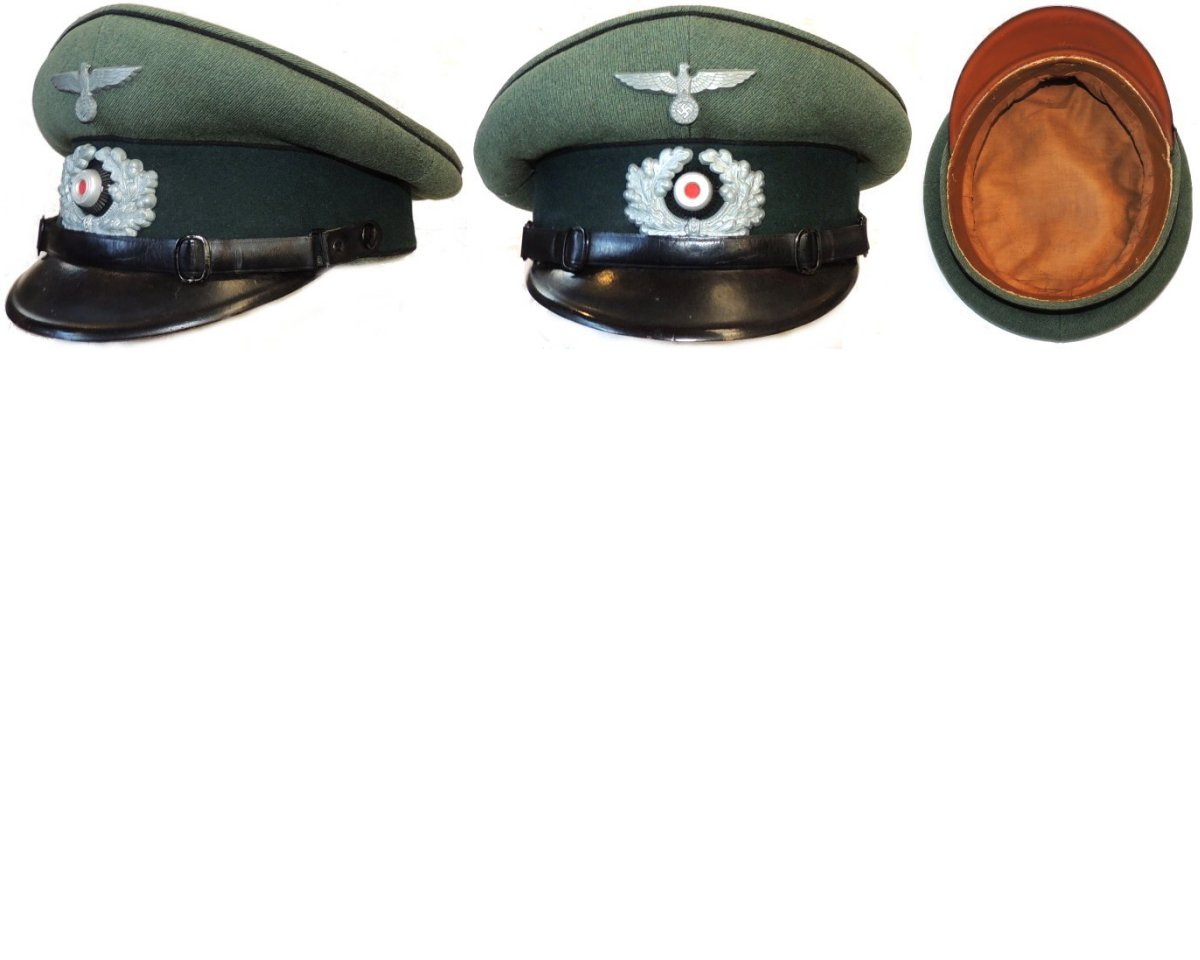 WH1248a. WEHRMACHT ENGINEER NCO'S PEAKED CAP