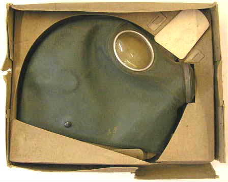 WH1296. AIR PROTECTION GAS MASK, in box of issue